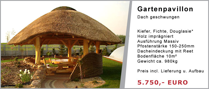 gartenpavillon reetdach_09:09:47 ~ egenis : inspirierend, Moderne